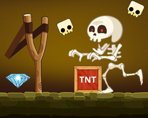 Game Bạch Cốt Tinh – Angry Skeletons