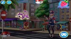 Game Elsa bắt Pokemon – Elsa Pokemon Go