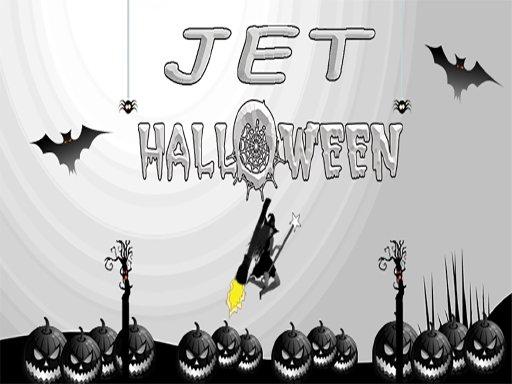 Game Phù thủy cưỡi chổi – Jet Halloween
