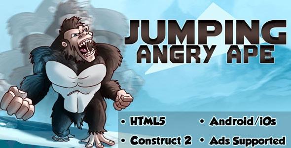 Game Khỉ đột tức giận – Jumping Angry Ape