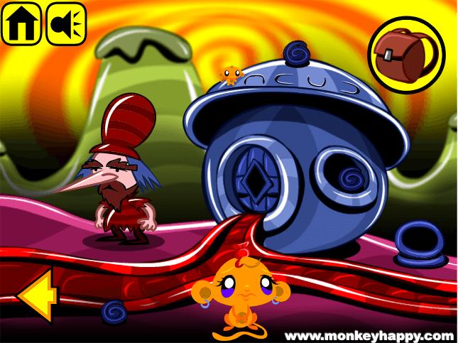 Game Chú khỉ buồn: Vương quốc kẹo ngọt – Monkey Go Happy Stage 107