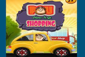 Game Pou đi mua sắm – Pou Drives To Go Shopping