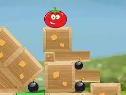 Game Giải cứu cà chua – Roll Tomato