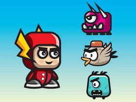 Game Flash phiêu lưu – The Flash Adventures