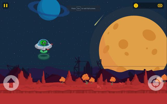 Game Đĩa bay xâm lăng – UFO Raider