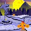 Game Chú khỉ buồn: Lâu đài lạnh giá – Monkey Go Happy Stage0015