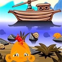 Game Chú khỉ buồn 165: Hoang đảo – Monkey Go Happy Stage 165