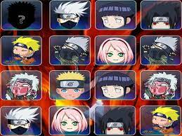 Game Find The Naruto Face