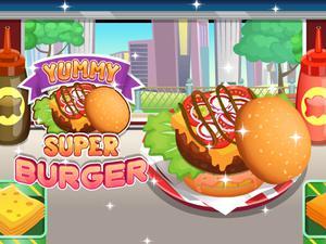 Game Tập Làm Bánh Hamburger