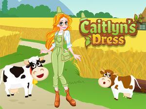 Game Caitlyn Dress Up Farm