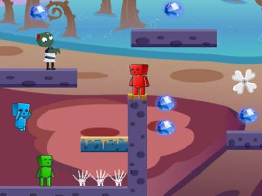 Game Lửa Và Nước Zombie