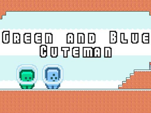 Game Green and Blue Cuteman
