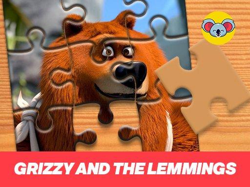 Game Ghép hình Grizzy and the Lemmings