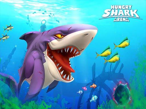 Game Hungry Shark Arena