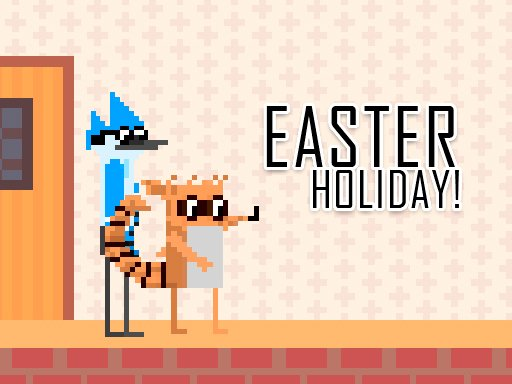 Game Mordecai and Rigby Easter Holiday