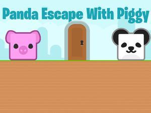 Game Panda Escape With Piggy