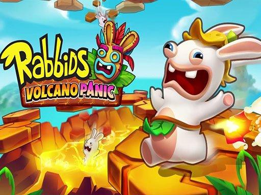 Game Rabbids Volcano Panicp