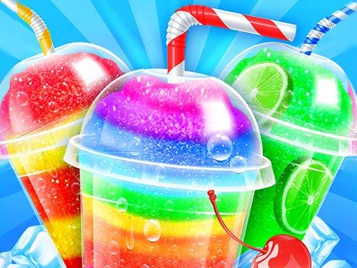 Game Rainbow Frozen Slushy Truck