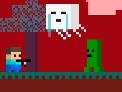 Game Steve AdventureCraft Nether