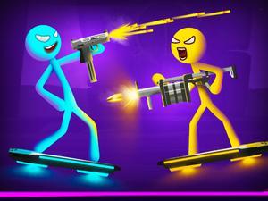 Game Stick Duel Battle