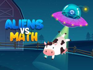 Game Aliens Vs Math