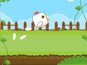 Game Chicken Climbing