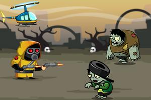Game Crazy Zombie Hunter