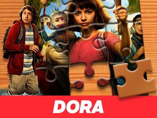Game Ghép Hình Dora