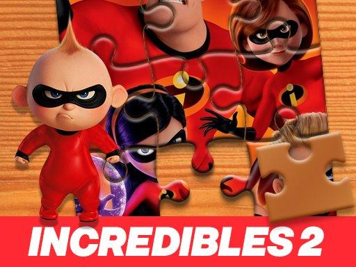 Game Ghép Hình Incredibles