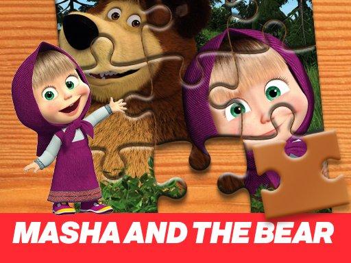 Game Ghép Hình Masha and the Bear