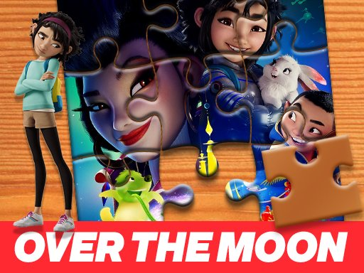 Game Ghép Hình Over The Moon