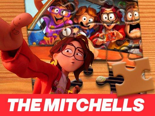 Game Ghép Hình The Mitchells vs the Machines